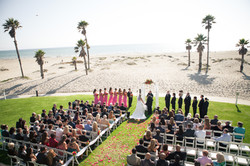 Leann & Matt Beach wedding