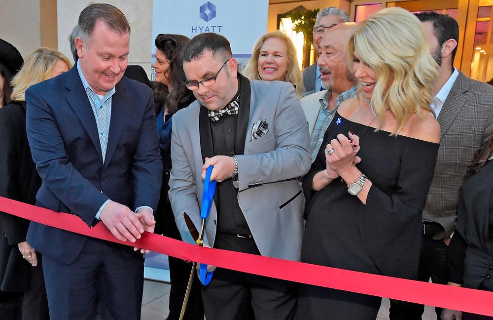 Hyatt, Valencia Grand Re-opening Ribbon Cutting