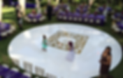 Dance Floor, Monogram, Stage, Decor