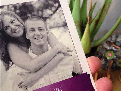 "Add a touch of class to your wedding ""Save the Date"" cards!"