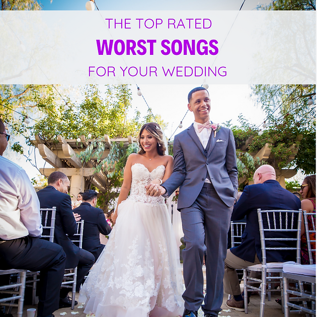 Wedding Video Songs.Worst Songs To Play At Your Wedding Djs Lighting Video Event