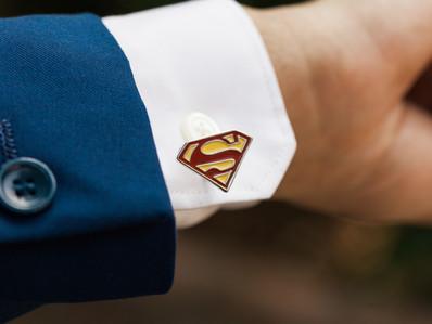 Real Wedding Series: Superhero Themed Wedding