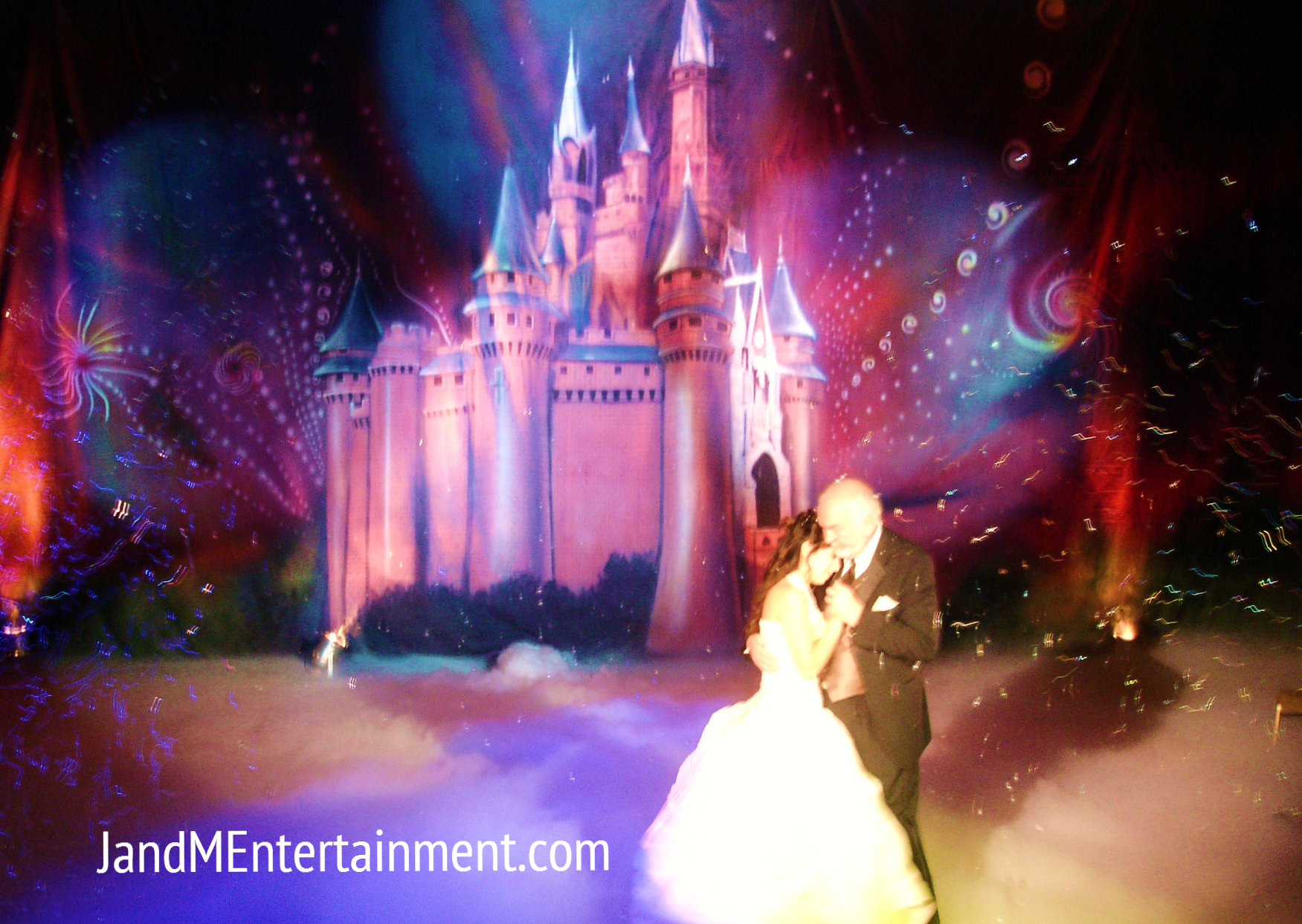 Castle Backdrop Princess Quinceanera theme