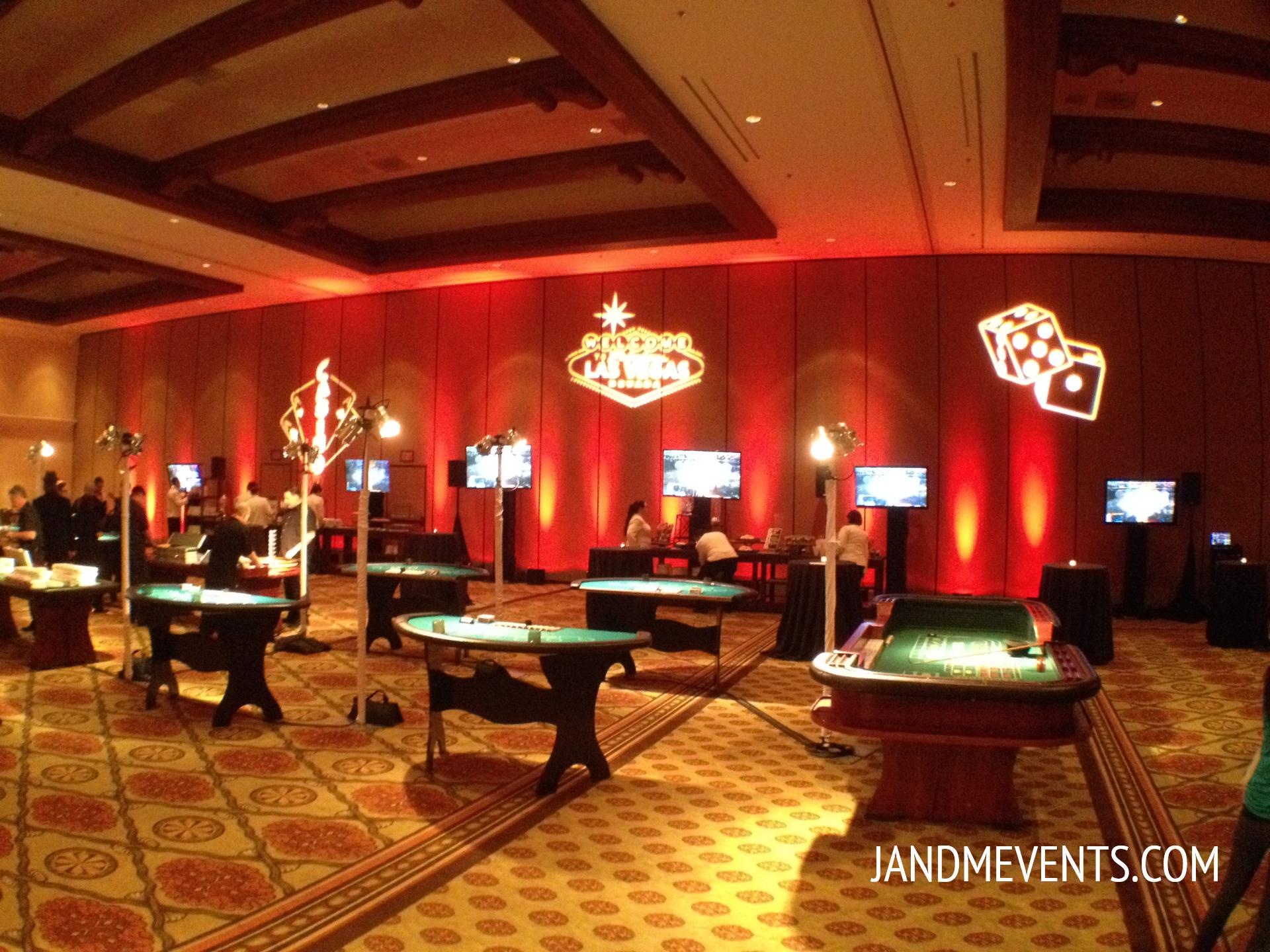Casino Las Vegas Theme Event