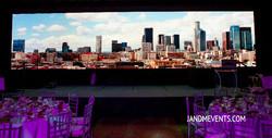 LED Video Wall Backdrop