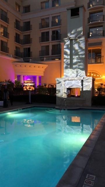 Hyatt, Valencia Grand Re-opening Pool Deck