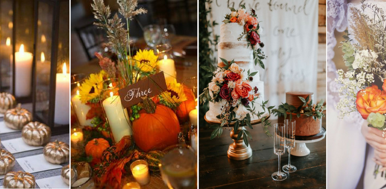 Top Must Haves For Your Fall Wedding