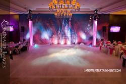 Castle backdrop Royal Quinceanera theme Disney Princess theme