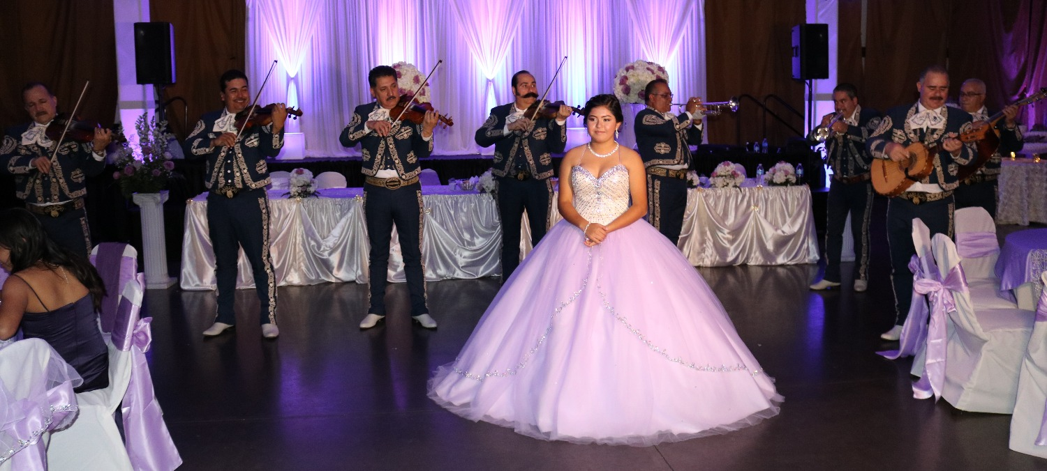 Purple Theme Quinceanera