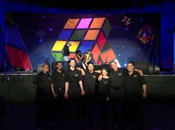 Production Team at WTUI, Long Beach