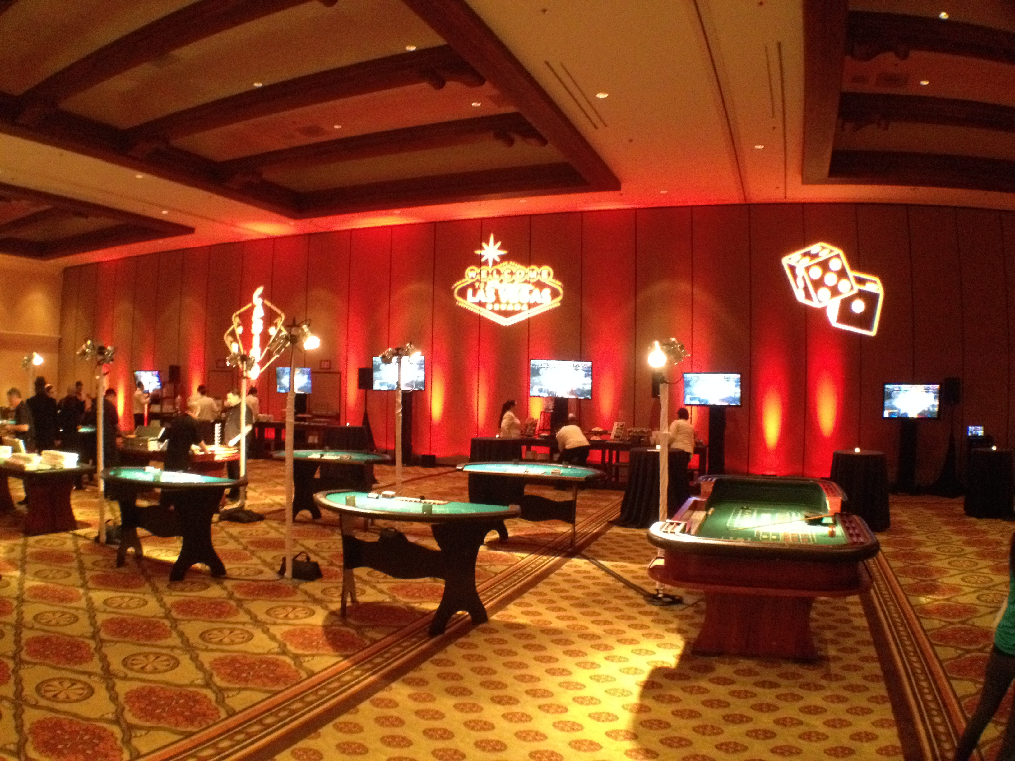 Vegas Themed Event
