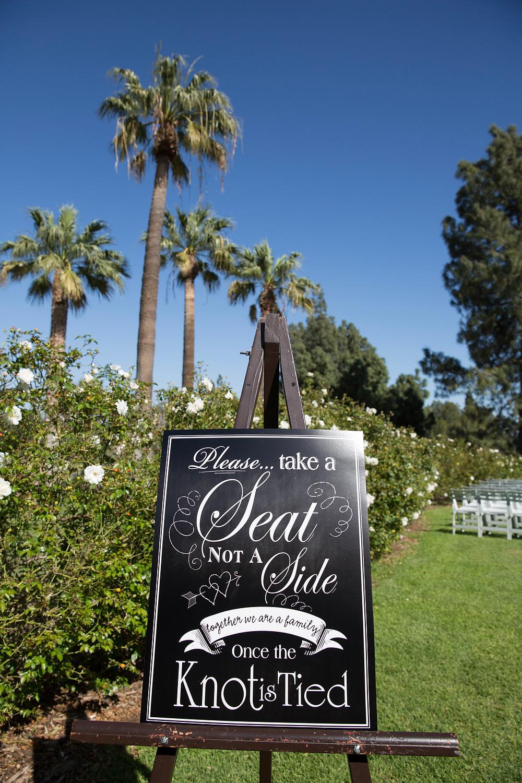 Los Angeles Wedding Ceremony Decor