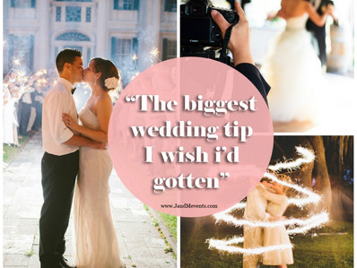 The Best Wedding Tip I Wish I'd Gotten