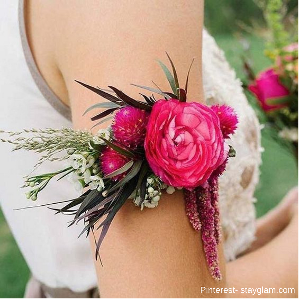 Floral accessories inspiration- bridal show in SCV