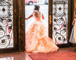 Coral Dress_Sabrina's Quinceañera