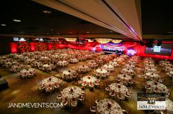 Wide room shot J&M Event production