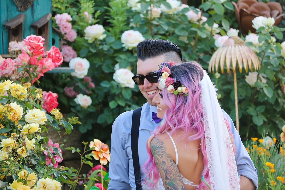 Backyard Wedding Ceremony in Los Angeles