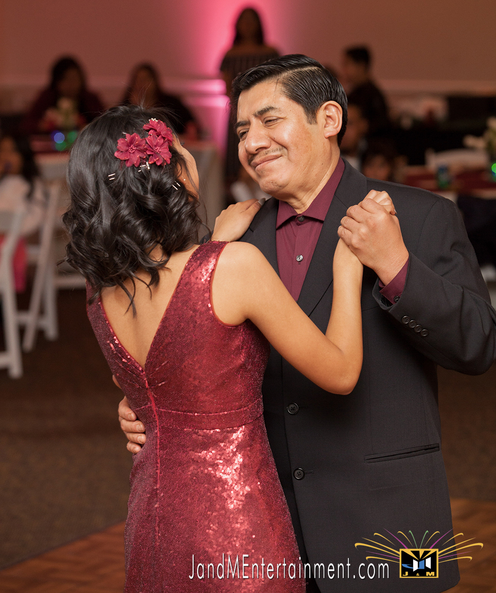 Daniella's Quinceanera_Father Daughter Dance_50's theme
