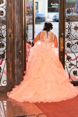 Coral Quince dress_photography