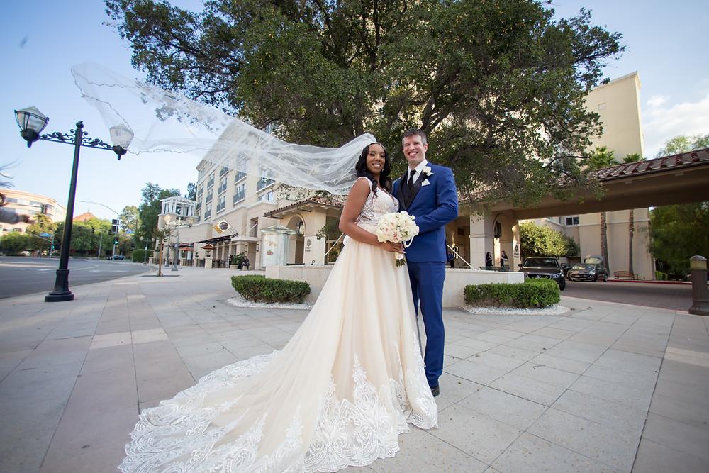 Santa Clarita Wedding Photography at The Hyatt, Valencia