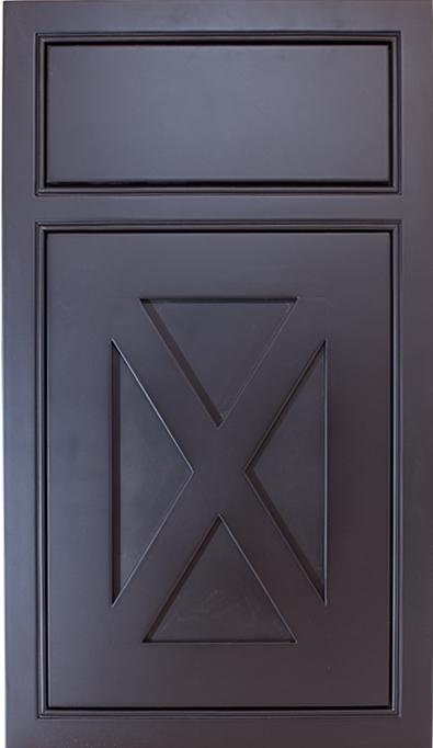 Beaded Inset with Custom x Panel Door an