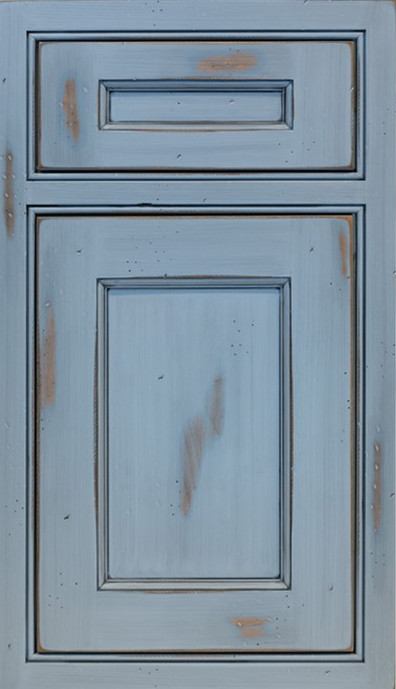Beaded Inset with Raised Door Panel, 5 P