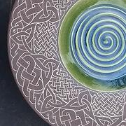 #platter #sgraffitopottery #ceramics #cl