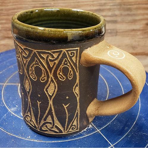Goddess Mug - Olive