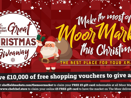 The Great Xmas Giveaway at ChefChef.store at the Moor