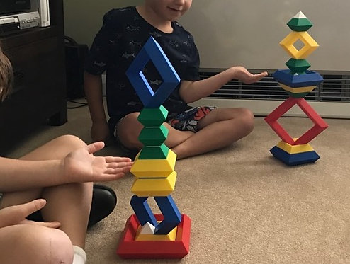 Construction Toy- Triangular Puzzles