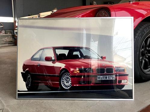 新車発表時ポスター E36 318クーペ