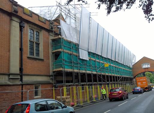 BRAWOLINER HELPS KEEP COLLEGE BUILDINGS DAMP FREE