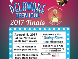 Delaware Teen Idols Competition Aug 4th