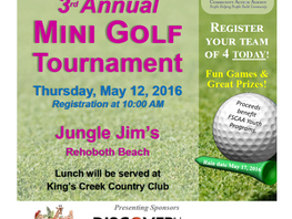 Don't miss the Par-tee!  Registration ends May 2