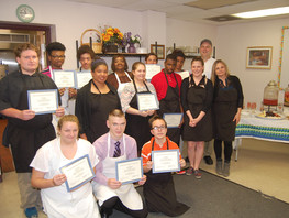 "Tasting Success!  ""Now We're Cooking"" Graduation - Cape Henlopen"