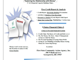 New Date!  Credit Clinic Series 1/4 - Credit Basics