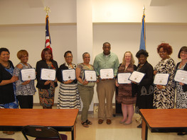 The Strength-based Family Worker Training Course Graduation