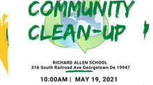 After School Learning Pods conducting Community Clean Up!  You can help!