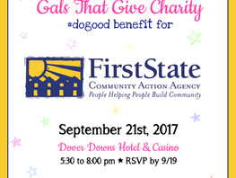 Save the Date, Have Fun and Do Good - Gals That Give event Sept. 21st