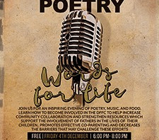 """Slam Poetry Event - """"Words for Life"""""""