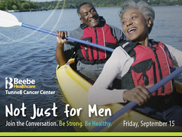Not Just for Men - Health & Wellness Event, Sep 15