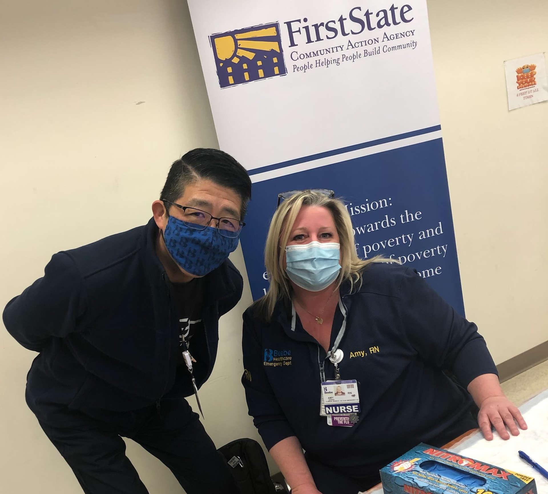 Dr. Tam & Nurse Amy