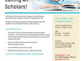 Freedom School Now Enrolling!