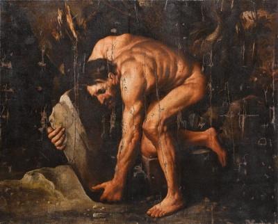 Pietro della Vecchia - Sisyphus