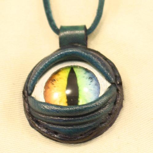 collier sautoir oeil
