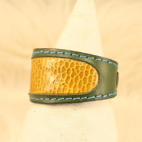 bracelet cuir castor