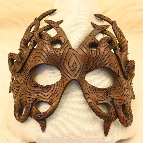 masque dentelle bois n°2
