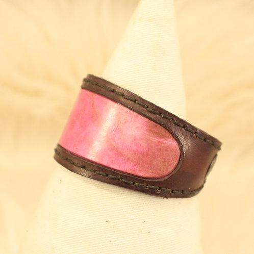 bracelet cuircrapaud buffle