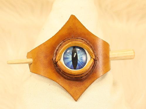 barrette pour cheuveux oeil