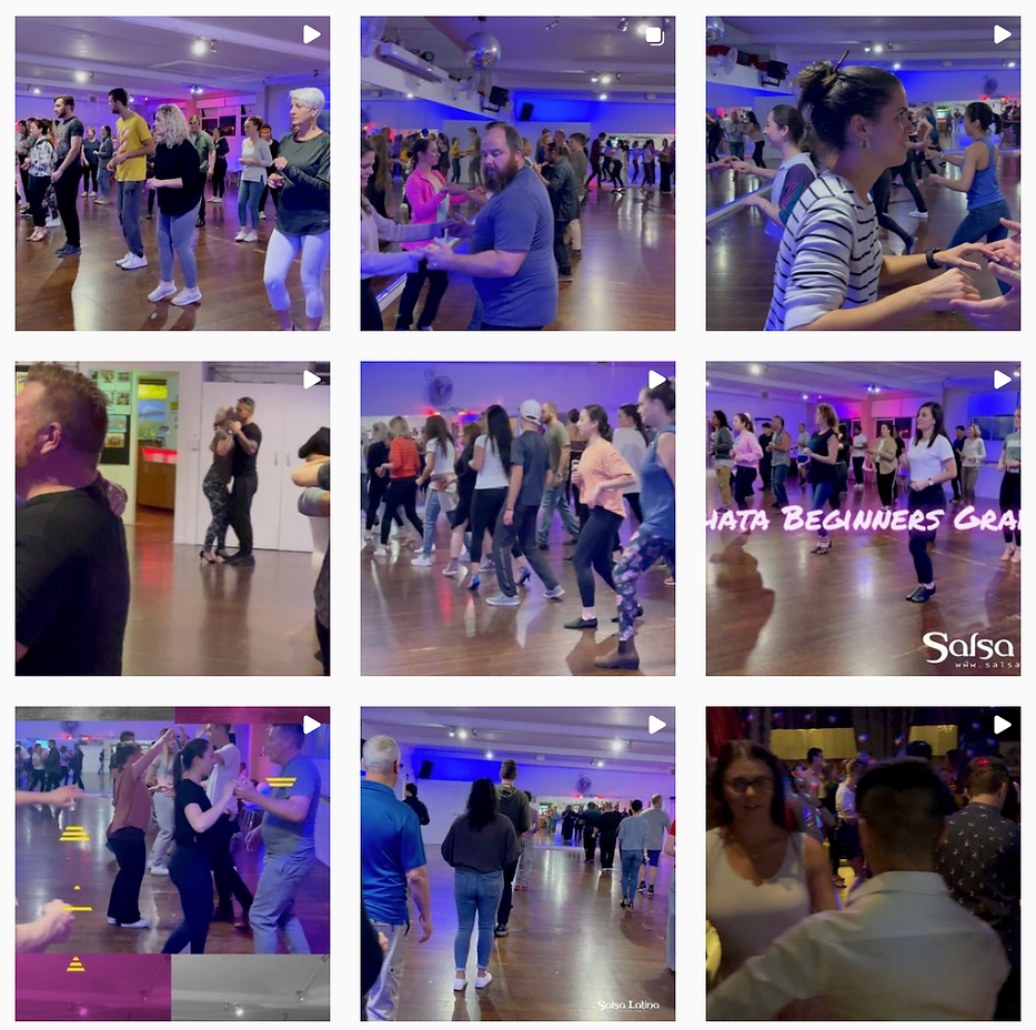 Instagram Videoes at Salsa Latina